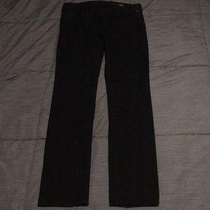 Express black skinny jeans sz 6 Regular 28x32